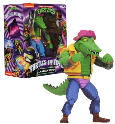 "NECA TMNT Turtles in Time 7"" Action Figure - Leatherhead"
